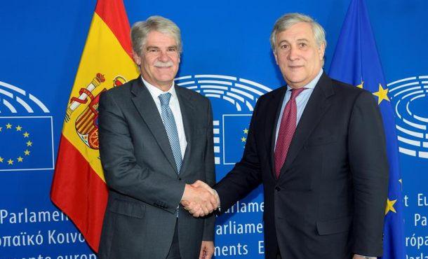 """España explica en Europa que busca """"restaurar la convivencia"""" con el Artículo 155 en Cataluña"""