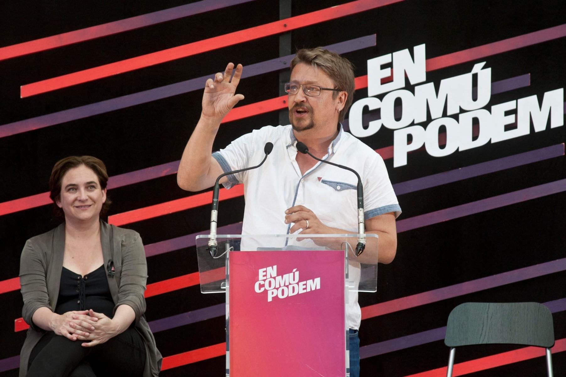 """Izquierda catalana """"complice"""" del separatismo rechaza ahora el golpe de estado en Cataluña"""