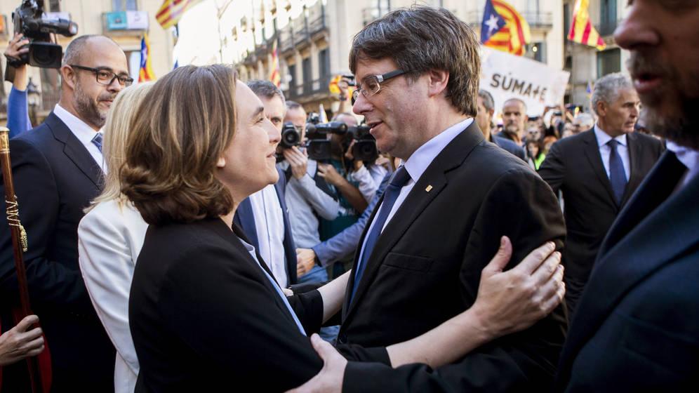 Ayuntamiento de Barcelona de Ada Colau prohíbe la selección Española, partido España-Rusia