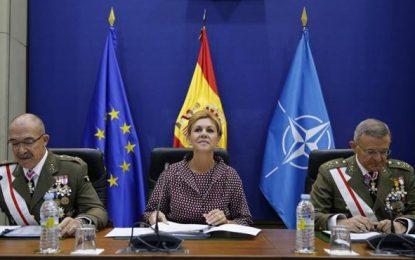 """""""Todos estamos con ustedes, la Unidad hace la fuerza; todos defienden la Nación española"""""""