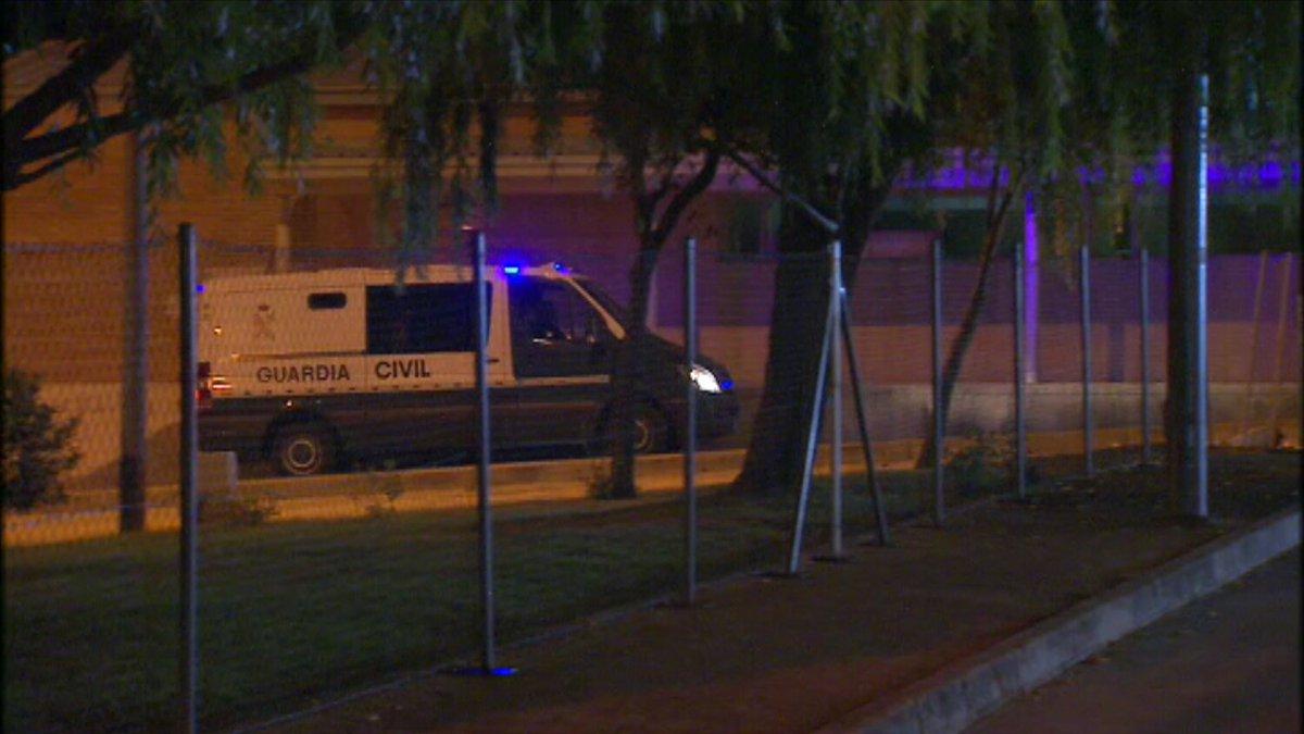 Sediciosos separatas de ANC y Ómnium llegan a Soto del Real en régimen de prisión preventiva