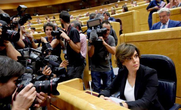 El Gobierno pide autorizar el Artículo 155 por la normalidad, tolerancia y concordia en Cataluña