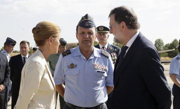 Muere el piloto de Eurofighter español que voló en el desfile de la Fiesta Nacional