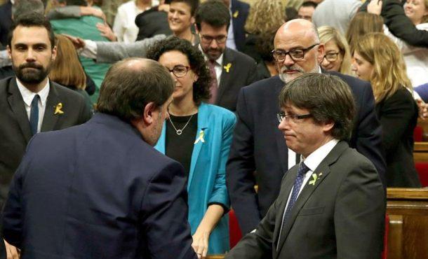 La Justicia suspenderá hoy la sedición del Parlamento de Cataluña del viernes 27-O: la (DUI)