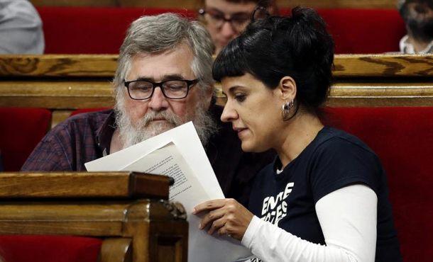 """CUP: """"Hoy"""" 10-Oct """"se ha perdido una ocasión"""" para proclamar la """"República Catalana"""""""