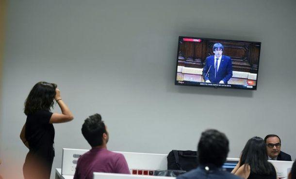 """RSF denuncia ataques de Puigdemont a la """"prensa"""" crítica y periodistas en Cataluña"""