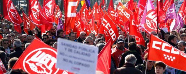 """UGT y CCOO exigen la dimisión de Puigdemont, """"no convocamos la Huelga General del 3-Oct"""""""