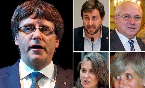 La juez ordena detener a Puigdemont y 4 exconsejeros que se fueron a Bélgica