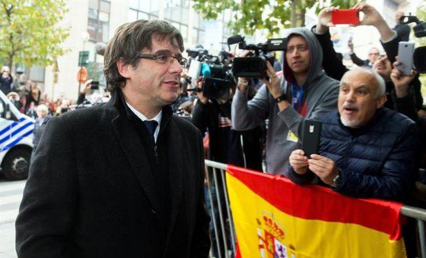 Puigdemont ante el Tribunal de Bruselas 17-N para la vista por de su entrega a España