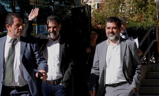 """El Tribunal respalda la investigación por sedición de los golpistas """"los Jordis"""" de ANC y Ómnium"""