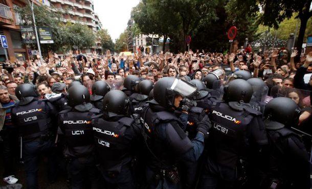 """Un juez catalanista investiga si hubo""""proporcionalidad"""" para impedir el golpe de estado del 1-O"""