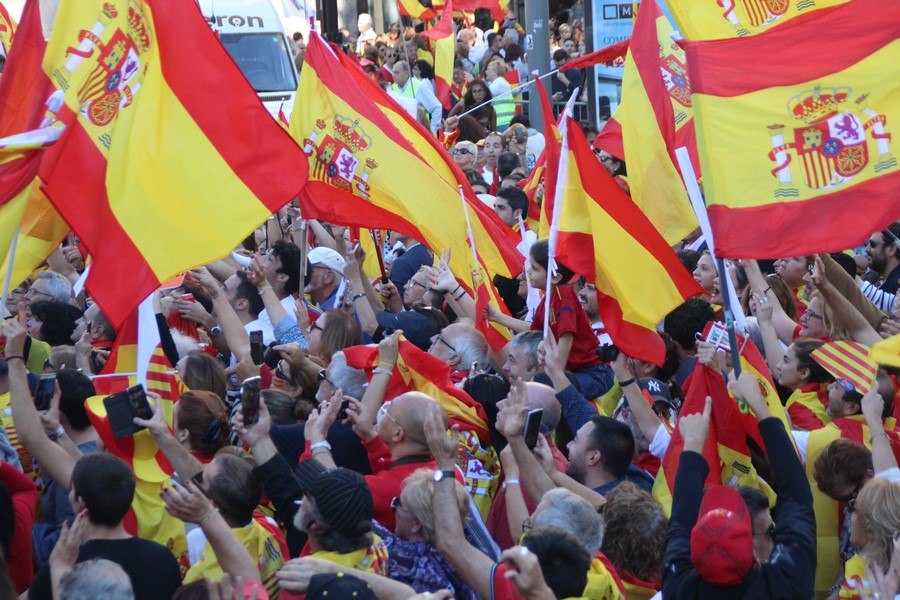 «España y Catalanes» llama a la movilización en Barcelona para celebrar el 6-D