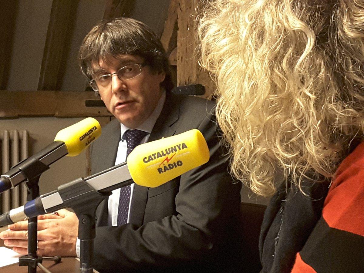 """Puigdemont: """"Estoy preparado"""" para ser extraditado a España, es solo para que """"el mundo escucha"""""""