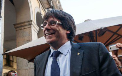 """Puigdemont: Ahora que quiero ser """"candidato"""" a elecciones españolas del 21-D, """"no he huido"""""""