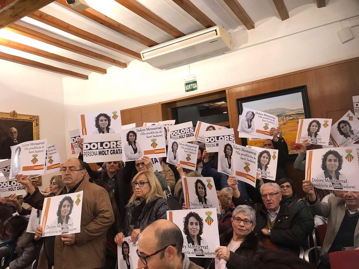 Montserrat ve victoria de la democracia en el rechazo de moción separatista de «persona non grata»