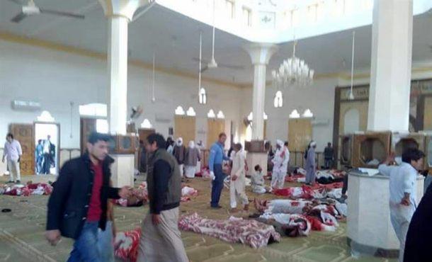 Asciende a 270 el número de muertos en el atentado terrorista de Egipto