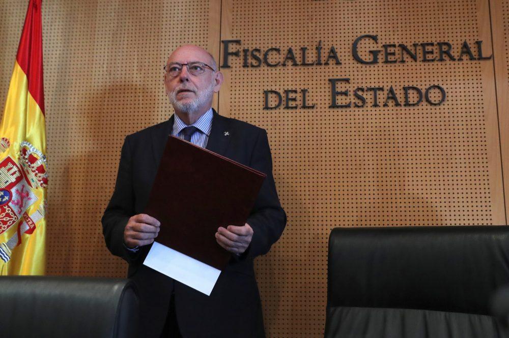 El relevo del fiscal General español José Manuel Maza se prolongará al menos 2 semanas