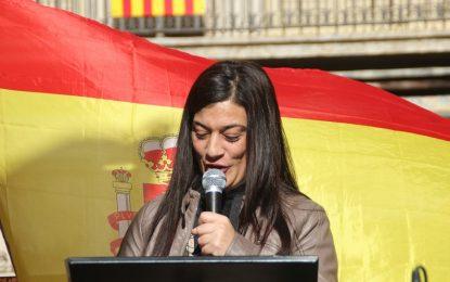"""Maria: Los separatistas """"nos han pretendido anular"""" en Cataluña, """"mis hijos nacieron en Gerona"""""""