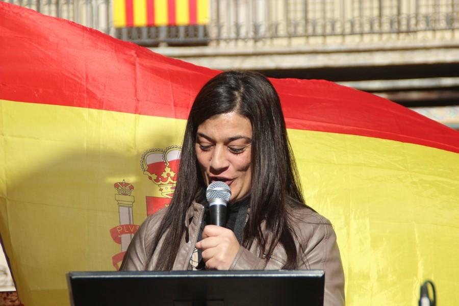 """Maria: Los separatistas """"nos han pretendido anular"""" en Cataluña"""