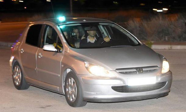 La delincuente Carme Forcadell ingresa en la cárcel de Alcalá-Meco (Madrid)