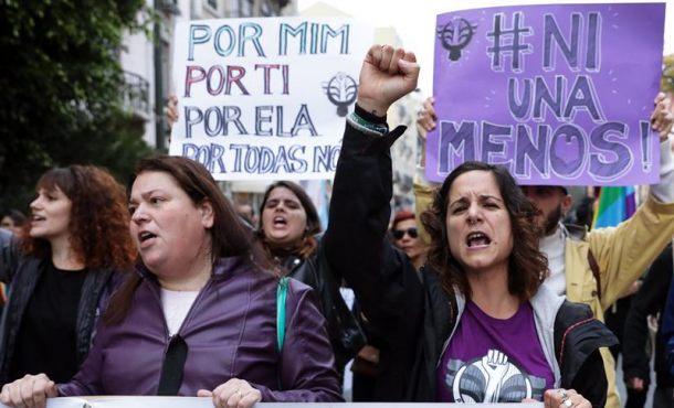 Manifestaciones por todo el mundo reclaman el fin de la violencia machista