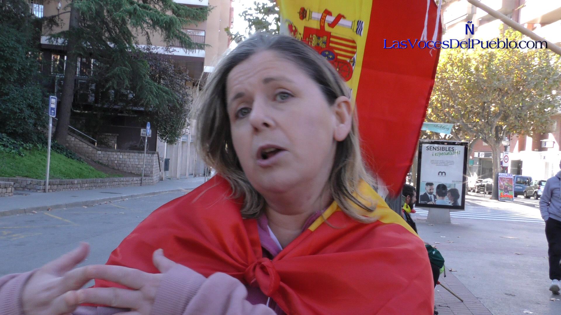 """Las catalanas estamos luchando contra un """"régimen totalitario supremacista en Cataluña"""""""