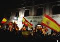 Sabadell canta y baila con banderas de España contra el separatismo del alcalde de CUP y Podemos