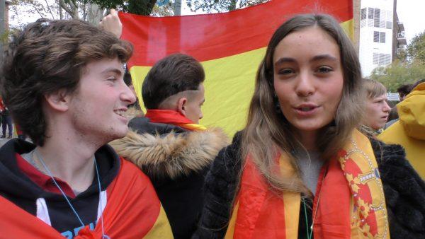 """Ana: """"Estamos hartos"""" del separatismo, """"hemos estados mucho tiempo callados y ya se acabó"""""""