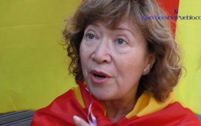 """Isabel: """"Estábamos escondidos con miedo por el independentismo"""""""