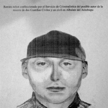 La Guardia Civil facilita retrato robot del asesino de 2 agentes de la benemérita