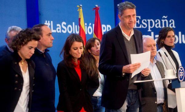 """El patriota Albiol no """"dimitirá"""" porque no tiene la culpa en el batacazo histórico del PPC al 21D"""