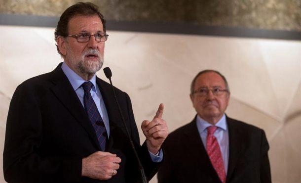 """Rajoy dice que el Gobierno """"seguirá ahí"""" en Cataluña para garantizar la Ley tras el 21D"""