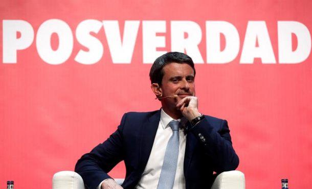 """El separatismo tacha de """"fascistas"""" a Francia y Valls por rechazar """"grandes mentiras"""" separatistas"""