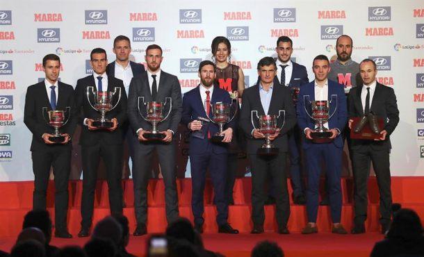 Messi, Iniesta, Aspas y Oblak, entre los mejores de la temporada 2016-17