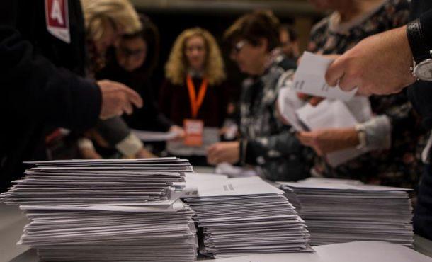Cs de Arrimadas con 34 escaños sigue primera fuerza catalana el 24% escrutado del 21-D