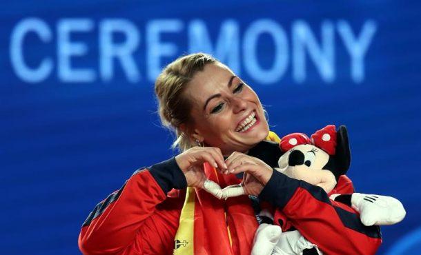 Campeonato del Mundo de Halterofilia: Lidia Valentín se queda con 3 oros en los 75 kilos mujeres