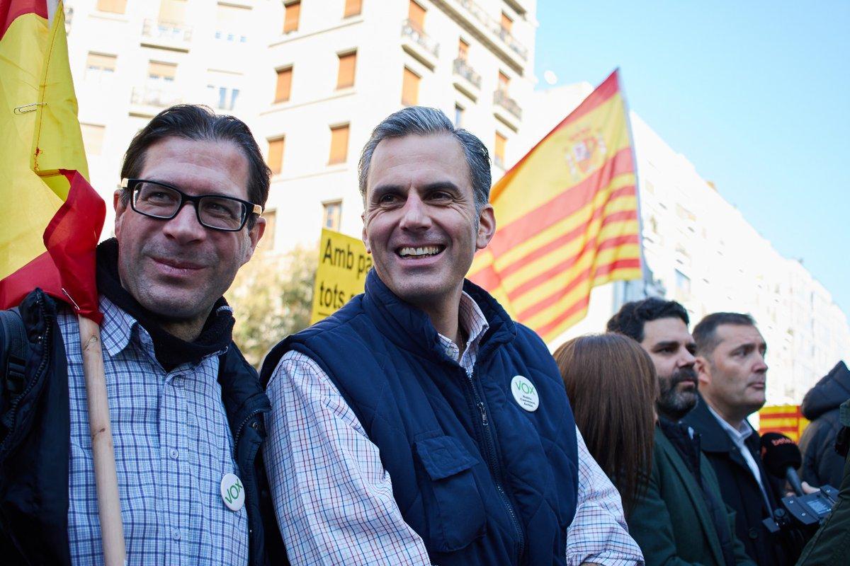 """VOX sobre huelga de hambre independentista: """"Preparen bien sus defensas porque las vais a necesitar"""""""