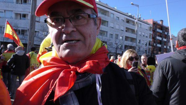 """El catalán Ricardo: """"El independentismo es nazismo puro"""""""