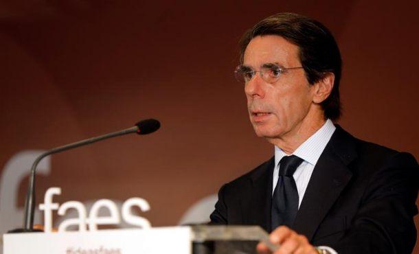 """Aznar carga contra Rajoy por """"culpar a Ciudadanos"""" del batacazo del PP al 21-D"""