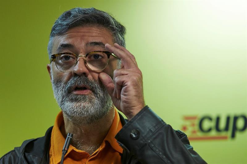 """CUP: """"Acatar"""" el Artículo 155 y la Constitución es """"brutalmente duro"""" para un separatista"""