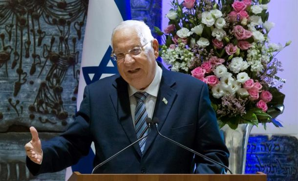 El presidente de Israel felicitó a Trump por reconocer Jerusalén como capital de Israel