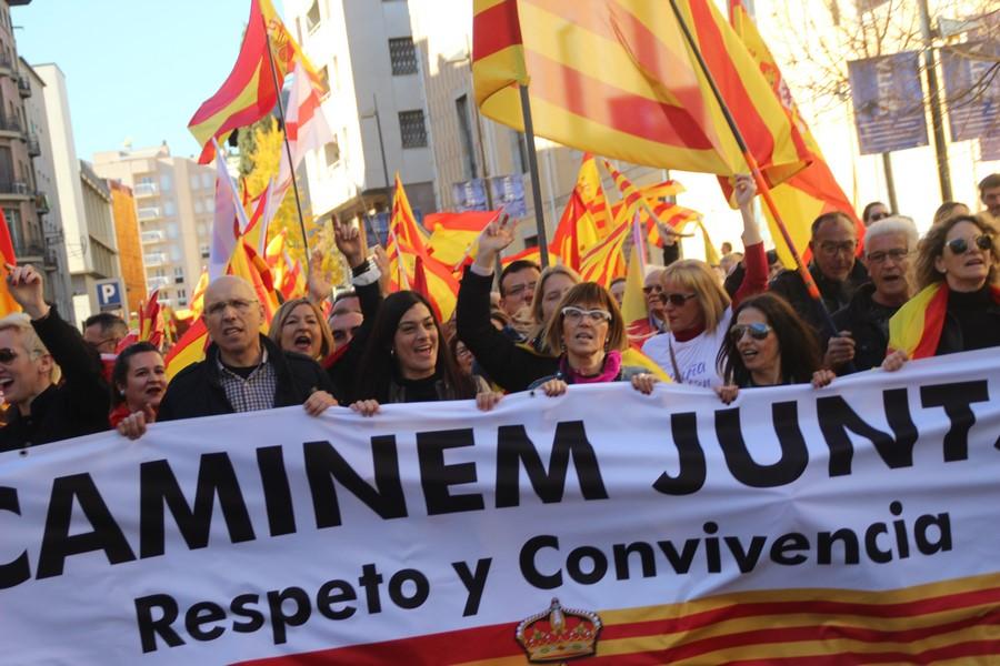 """Gerona organiza """"pitada popular"""" contra el cambio de """"Pl. de la Constitución por Pl. del 1-O"""""""