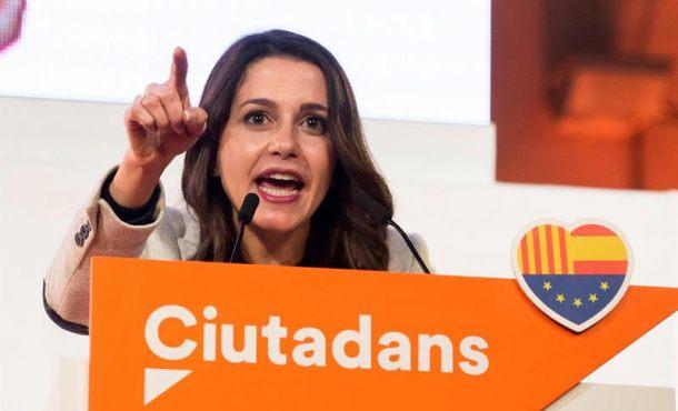 Arrimadas: El voto a Ciudadanos Cs el 21-D es el cambio de verdad en Cataluña