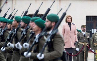 El Ejército celebrar en Barcelona la «Inmaculada Concepción» en un ambiente festivo