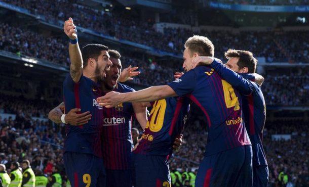 Victoria contundente de FC Barcelona en el Santiago Bernabéu ante el Real Madrid (0-3)