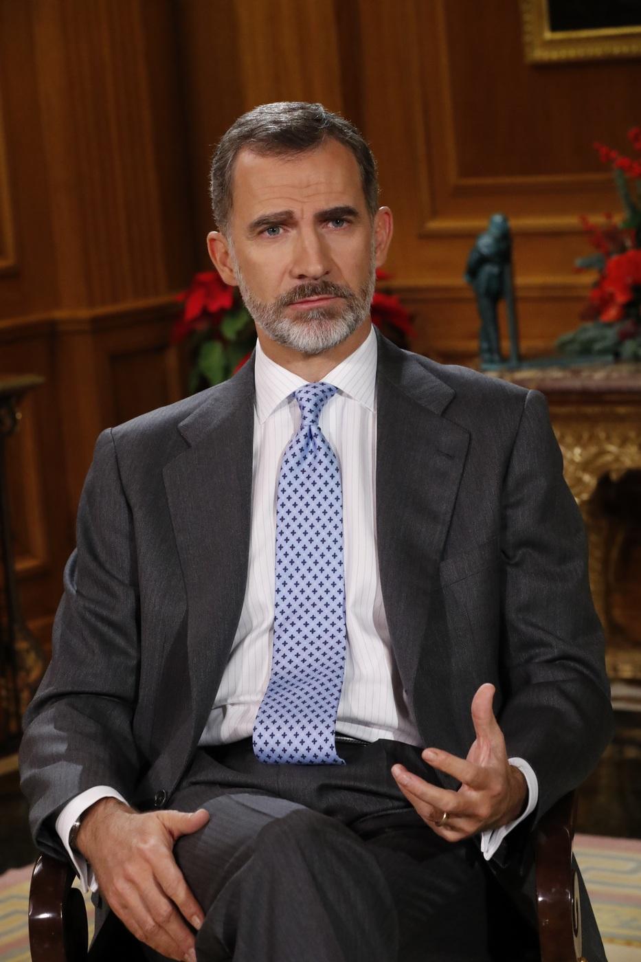 Los partidos españoles aplauden el discurso de Nochebuena del rey centrado en Cataluña