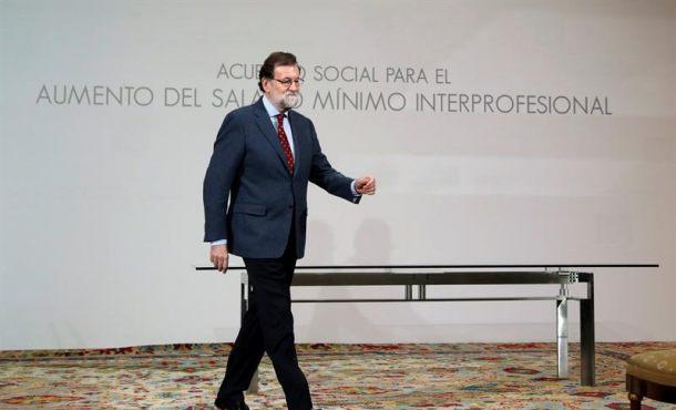 """Rajoy defiende la """"España"""" grande """"plural e integrador"""""""