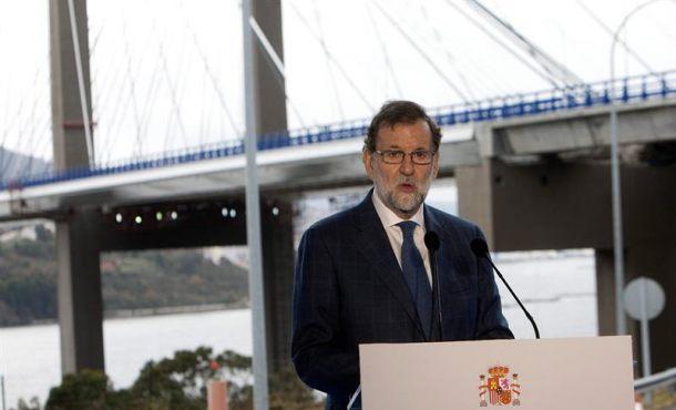 """Rajoy: """"Tengan por seguro que el Gobierno seguirá trabajando al servicio del interés general"""""""