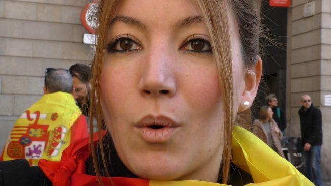 """Ana: """"Los independentistas nos están invadiendo creando un fascismo catalán"""""""
