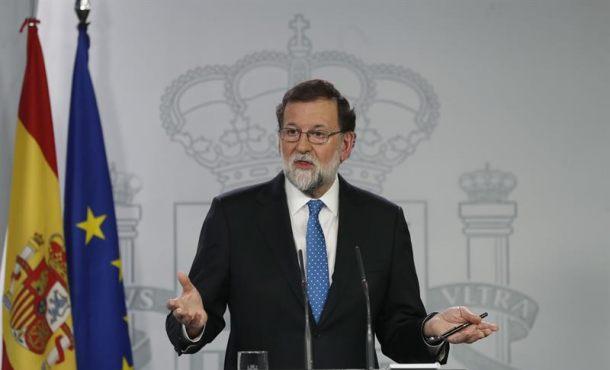 """""""Si quiere reformar la Constitución para suprimir la Soberanía Nacional no podrá contar con Rajoy"""""""